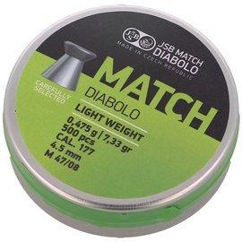 Śrut JSB Green Match Diabolo Light Weight 4.49 mm (000004-500)