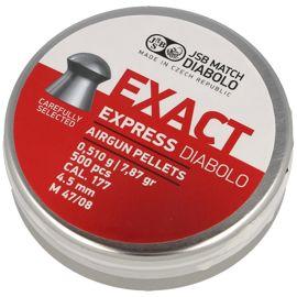 Śrut diabolo JSB Exact Express kal. 4.52 mm 500 szt - 546257-500