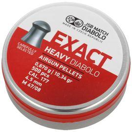 Śrut diabolo JSB Exact Heavy kal. 4.52 mm 500 szt - 546267-500