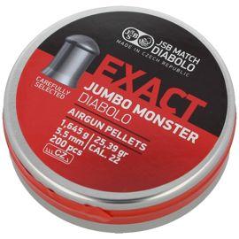 Śrut diabolo JSB Exact Jumbo Monster kal. 5.52 mm 200 szt - 546288-200