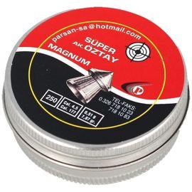 Śrut diabolo Oztay Magnum Pointed (szpic) kal 4.5 mm 250 szt - OZ 45 250 POINT