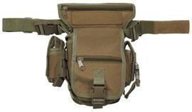 Torba MFH Hip Bag (Security/SWAT) Black (30701A)