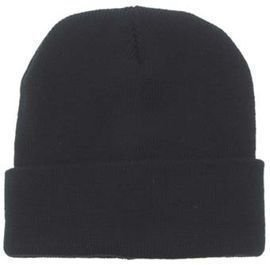 Czapka MFH Watch Cap Wool Black - 10933A