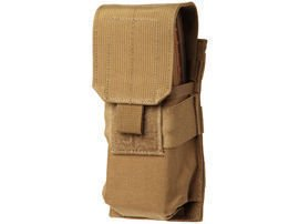 Ładownica BlackHawk M4/M16 Single Mag Pouch (Holds 2) MOLLE Coyote Tan - 37CL02CT