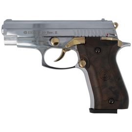 Pistolet Alarmowy kal. 9 mm (EKOL P 29 Rev II CHROM / BROWN / GOLD )