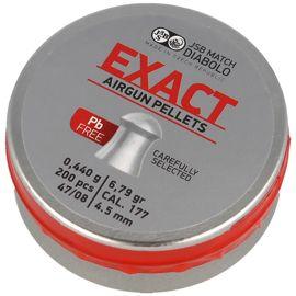 Śrut JSB Diabolo Exact Lead Free 4.5mm, 200szt (1004-02-200)