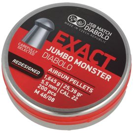 Śrut JSB Exact Jumbo Monster ReDesigned 5.52mm 200szt (546388-200)