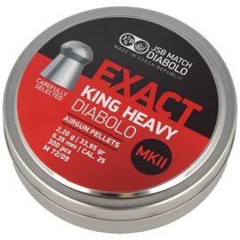 Śrut JSB Exact King Heavy MKII 6.35mm 300szt (546498-300)