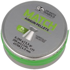 Śrut JSB Green Match Lead Free 4.5mm, 200szt (1005-02-200)