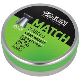 Śrut JSB Green Match Light Weight 4.49mm 0.500g (000004-500-5)