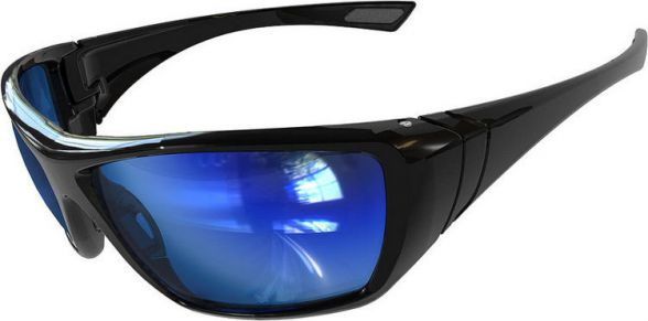 Bolle Safety okulary ochronne HUSTLER Polarized Blue Flash (HUSTFLASH)