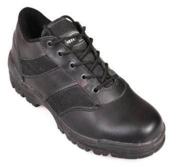 Buty Mil-Tec Security Low Thinsulate Leather/Polyamid 800D black (17870)