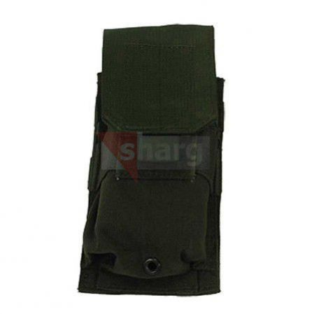 Ładownica BlackHawk M4/M16 Single Mag Pouch (Holds 2) MOLLE Black - 37CL02BK