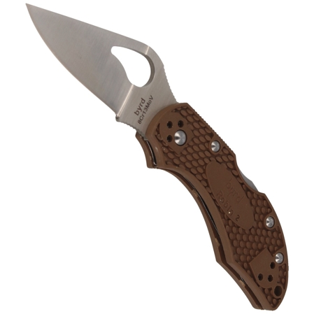 Nóż Spyderco Byrd Robin 2 FRN Brown Plain (BY10PBN2)