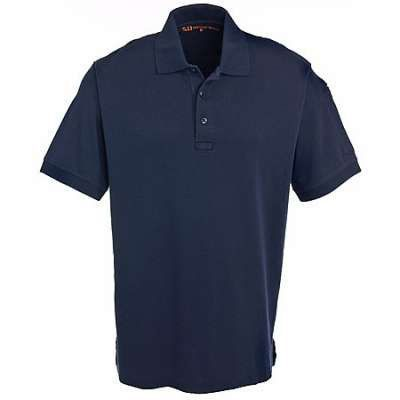 Polo 5.11 Tactical Tact Cotton 100% Cotton Flat Krótki Rękaw
