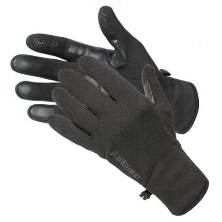 Rękawice BlackHawk Cool Weather Shooting Gloves, materiał, Fleece, Full finger, długie