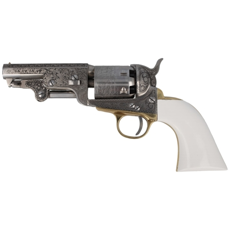 Rewolwer Pietta 1851 Colt Navy Yank Old Silver Captain .36 (YASBOS36/CAP/IG)
