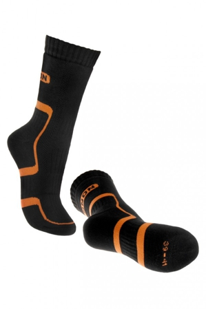 Skarpety trekkingowe Bennon Black-Orange (D21001)