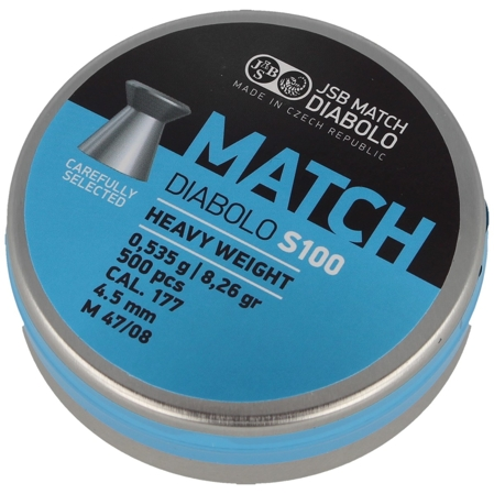 Śrut JSB Blue Match Heavy S100 4.52mm 500szt (000030-500)