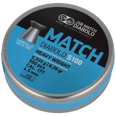 Śrut JSB Blue Match Heavy S100 4.5mm 500szt (000025-500)