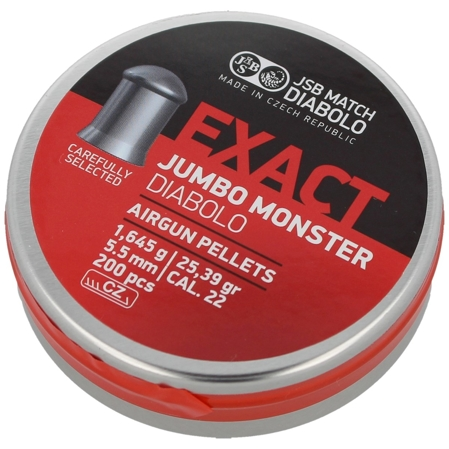 Śrut JSB Exact Jumbo Monster 5.52mm 200szt (546288-200)